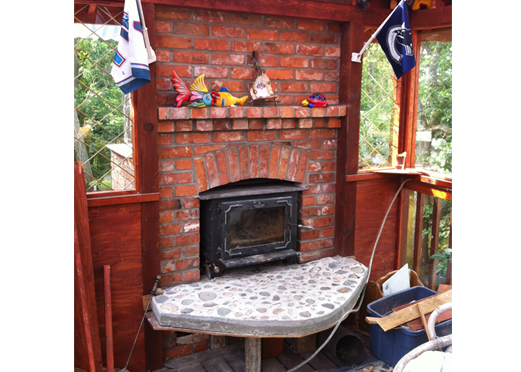 Patio Woodstove