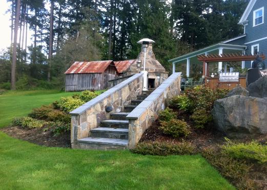 Mortar Rock Stairs4
